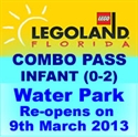 Picture of Legoland® Florida - INFANT (0-2) day Pass  - Water park Combo for Infants