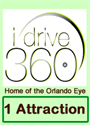 Picture of I-Drive 360 - Choose 1 attraction from, Orlando Eye, Madame Tussauds or Sea Life.